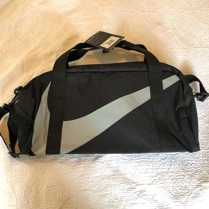 Black and grey Nike gym bag - new with tags